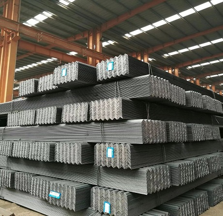 Standard sizes and thickness galvanized hot dip galvanised steel angle iron bar