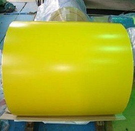 PPGI powder coated galvanized steel coil