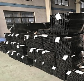 ASTM Light Oiled Black Square Hollow Section Steel Pipe