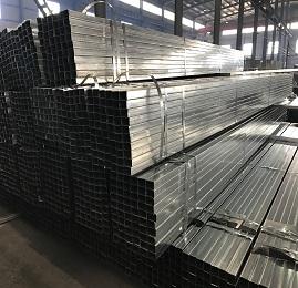 Hollow Section Rectangular Galvanized Mild Carbon Steel Tube Pipe