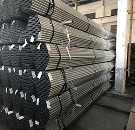 BS1387 Round pre galvanied steel pipe