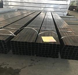 RHS SHS Rectangular Tube Steel Square Tube Black Iron Pipe