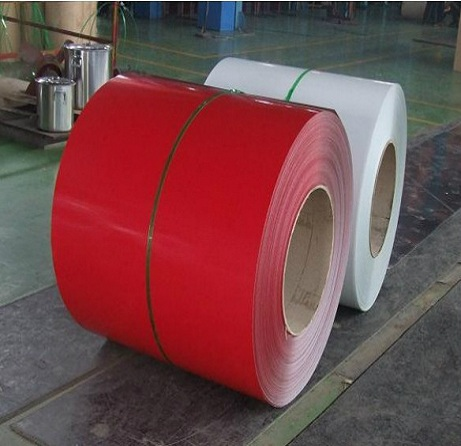 Prepainted or color coated steel coil PPGI color coated galvanized steel