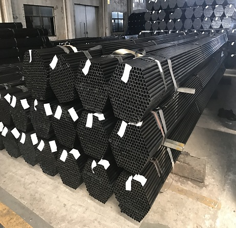 Structural sections black round carbon steel pipe