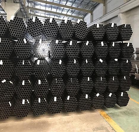 Black steel Pipe Round Hollow Sections ASTM, JIS Standard