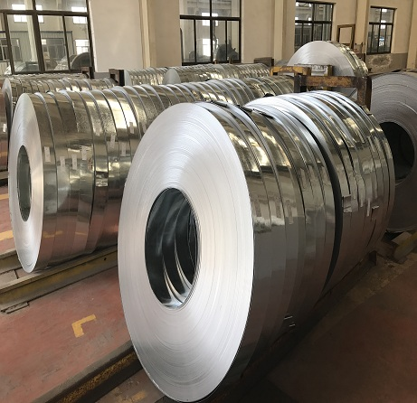 Hot Dipped Zinc Coated Steel Oiled Surface Galvanized Steel Strip