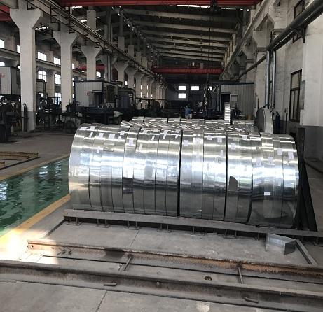 Customized sizes Galvanized Steel Strip